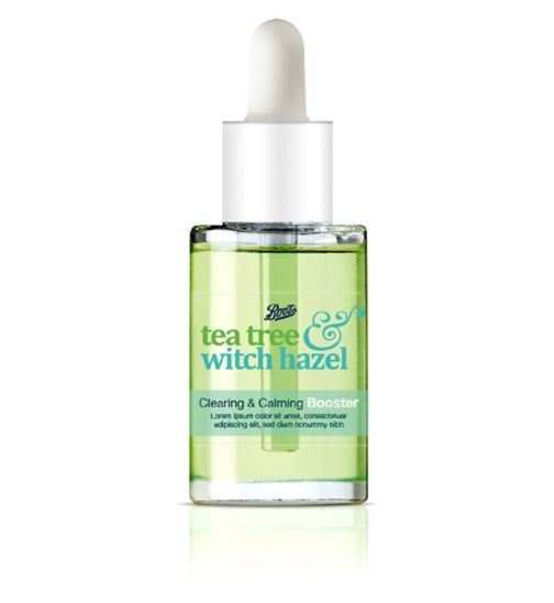 Tea Tree and Witch Hazel Clearing and Calming Booster