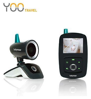 Babymoov YOO-Travel Wireless 2.4 inch Panoramic Video Baby Monitor