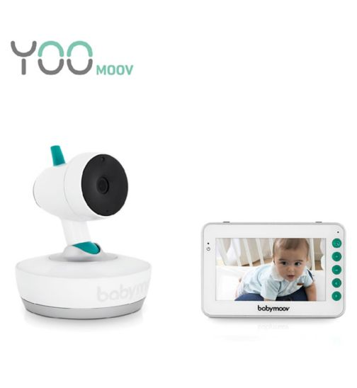Babymoov YOO Moov 360 Degree Motorised 4.3 inch Video Baby Monitor