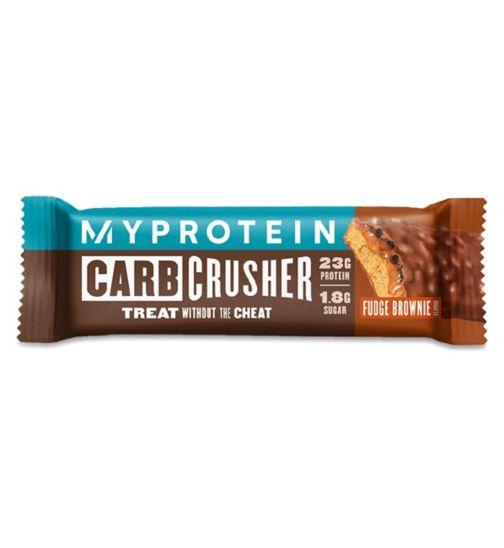 MyProtein Carb Crusher Protein Bar Fudge Brownie - 64g
