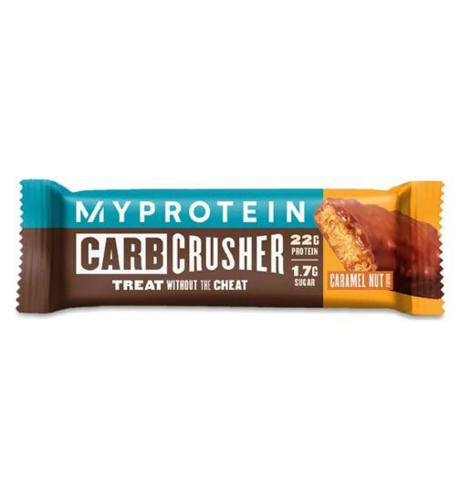 MyProtein Carb Crusher Protein Bar Caramel Nut - 64g