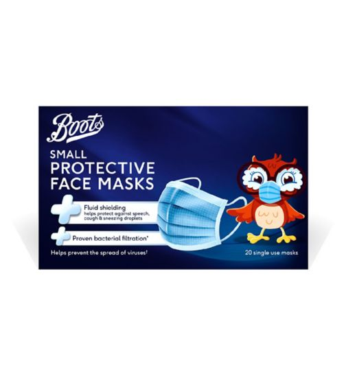 Boots 3PLY Small Protective Face Mask - 20 Pack