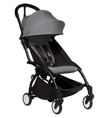 Babyzen YOYO 6+ Stroller - Black/Grey