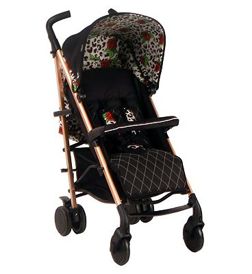 My Babiie MB51 Believe Stroller - Rose Leopard