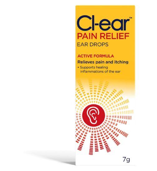 Cl-ear Pain Relief Ear Drops 7g