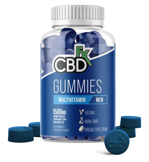 CBDfx Gummies Multivitamin for Men 1500mg - 60 Gummies