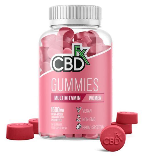 CBDfx Gummies Multivitamin for Women 1500mg - 60 Gummies
