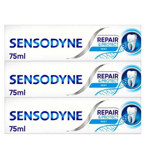 Sensodyne Repair & Protect Deep Repair Toothpaste Bundle