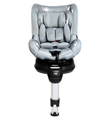 My Babiie Orbit Group 0+/1 Spin Car Seat - Grey Stars