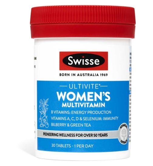 Swisse Ultivite Womens Multivitamin Tablets 30s
