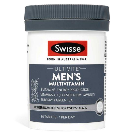 Swisse Ultivite Mens Multivitamin Tablets 30s