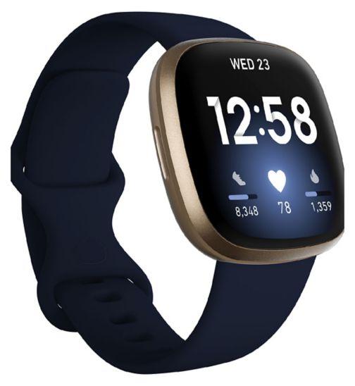 Fitbit Versa 3 Midnight
