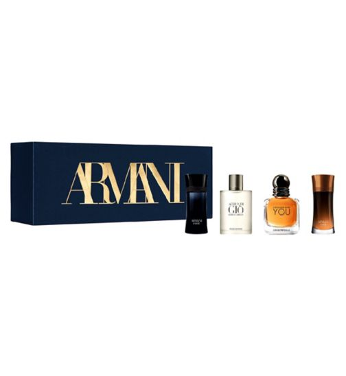 Giorgio Armani Men's Discovery Fragrance Gift Set