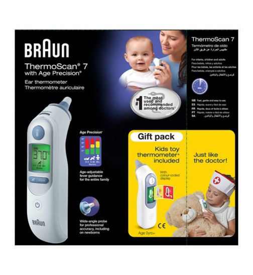 Braun Thermoscan 7 with Age Precision Ear Thermometer