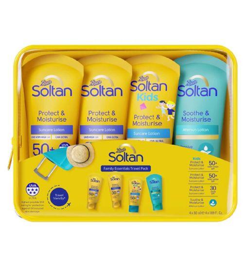 Soltan Family Essentials Travel Pack