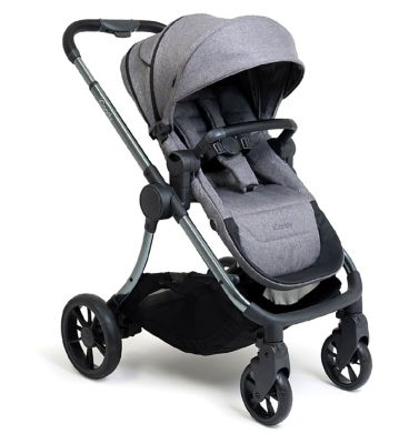 iCandy Lime Lifestyle Combo Travel System - Charcoal