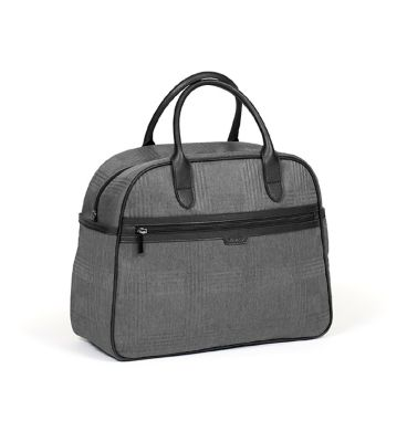 iCandy Peach Changing Bag - Dark Grey Check