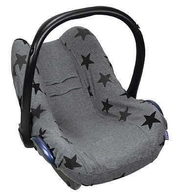 Dooky Seat Cover 0+ Grey Stars