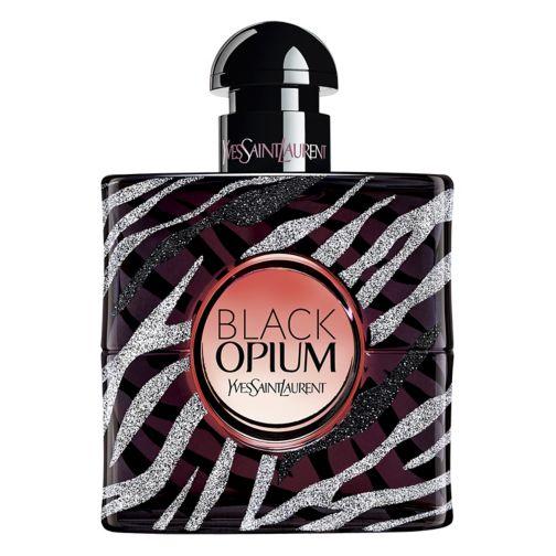 YSL Black Opium Eau de Parfum Zebra Collector Bottle 50ml