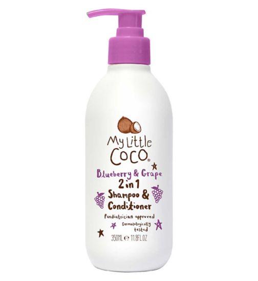 My Little Coco Blueberry & Grape 2 in 1 Shampoo & Conditioner 350ml