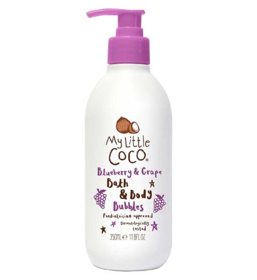 My Little Coco Blueberry & Grape Bath & Body Bubbles