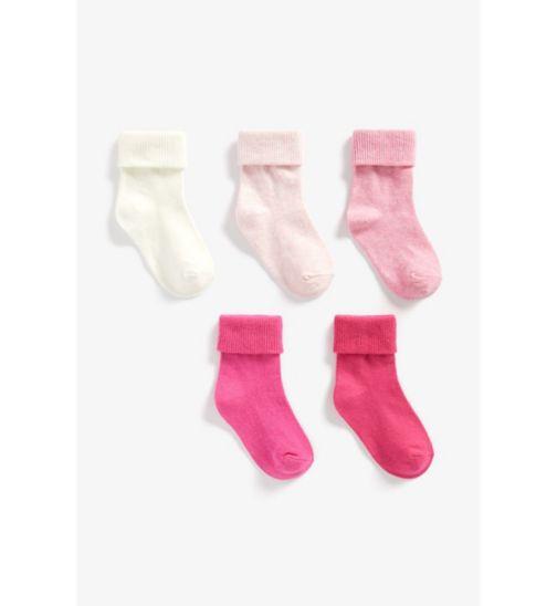 Baby Girl 5 Pack Socks