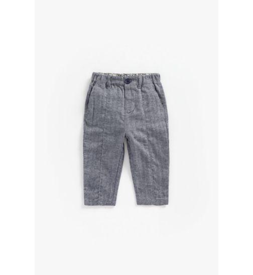 Special Collection Harringbone Wool Trouser