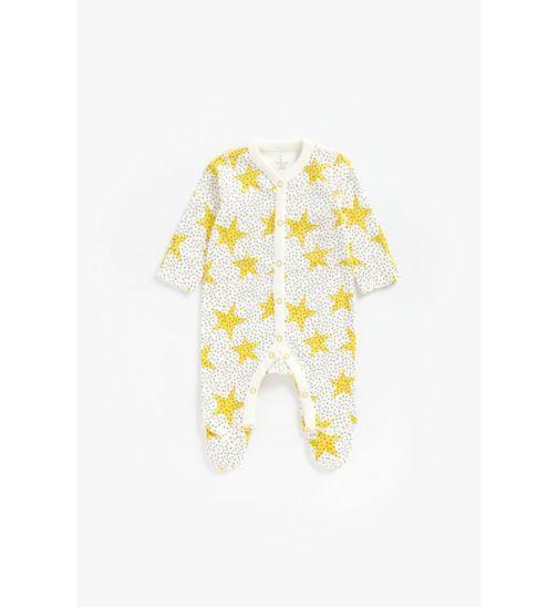 Newborn Yellow Star All In One
