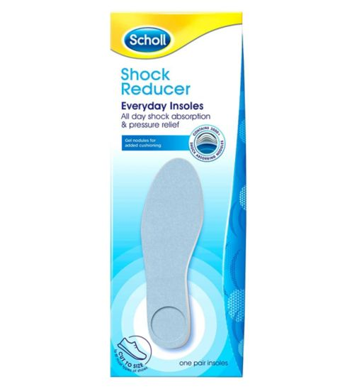 Scholl Shock Reducer Everyday Insoles - One Pair