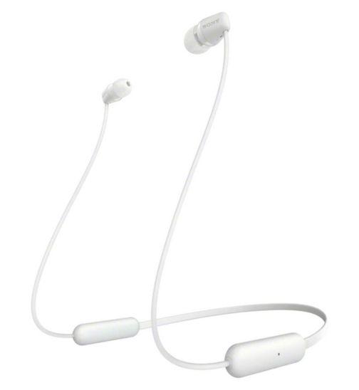 Sony WI-C200 Wireless In-Ear Headphones - White