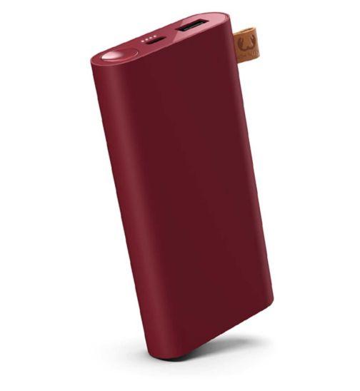 Fresh n Rebel 12,000mah Powerbank Ruby Red
