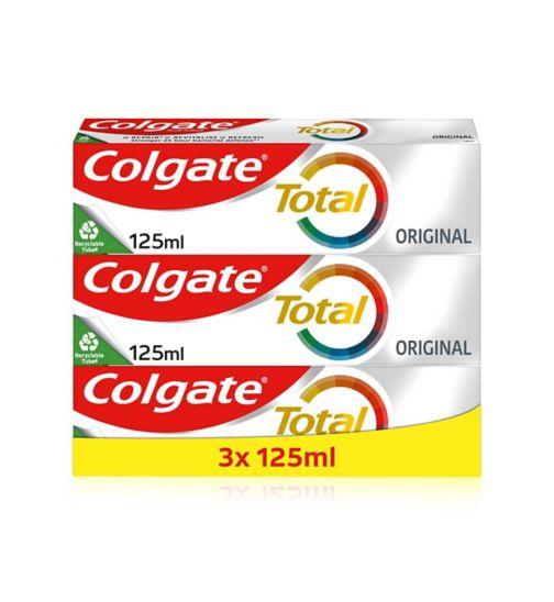 Colgate total 125ml x3 Bundle