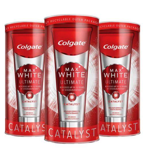 Colgate Max Ultimate Catalyst Toothpaste Bundle x3