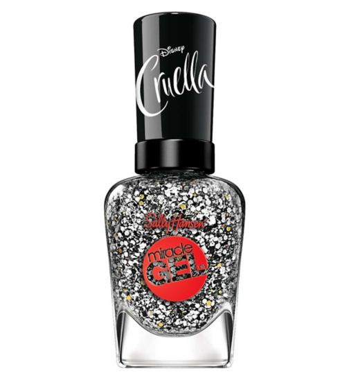 Sally Hansen Miracle Gel Nail Polish Disney Cruella Collection - THE DEVIL IS IN THE DETAILS