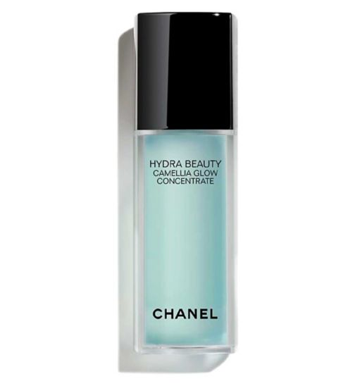 CHANEL HYDRA BEAUTY CAMELLIA GLOW CONCENTRATE Gentle Exfoliating Hydration With AHAs