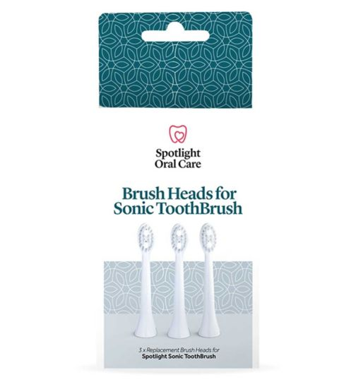 Spotlight Oral Care Sonic Toothbrush Replacement Heads