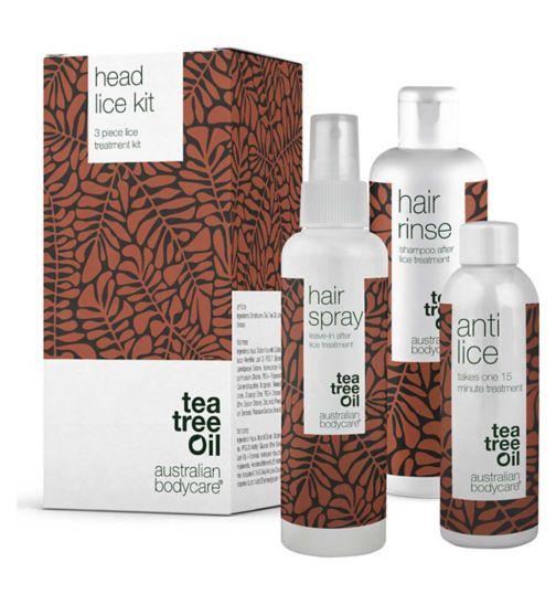 Australian Bodycare Tea Tree Oil Head Lice Kit