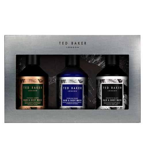 Ted Baker Scent-Sational Trio Body Wash Trio