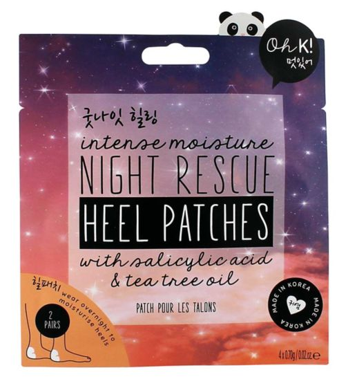 Oh K! Night Rescue Heel Patches 4