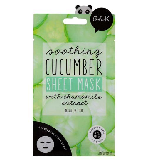 Oh K! Cucumber Sheet Mask 20ml