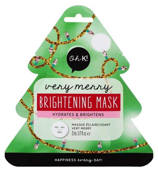 Oh K! Very Merry Brightening Sheet Mask 23ml
