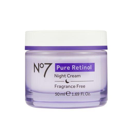 No7 Pure Retinol Night Repair Cream 50ml