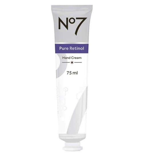 No7 Pure Retinol Hand Cream 75ml