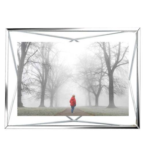 Umbra Prisma frame chrome 6 x 4'