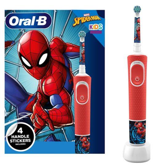 Oral-B Kids Electric Toothbrush Spider-Man Designed By Braun