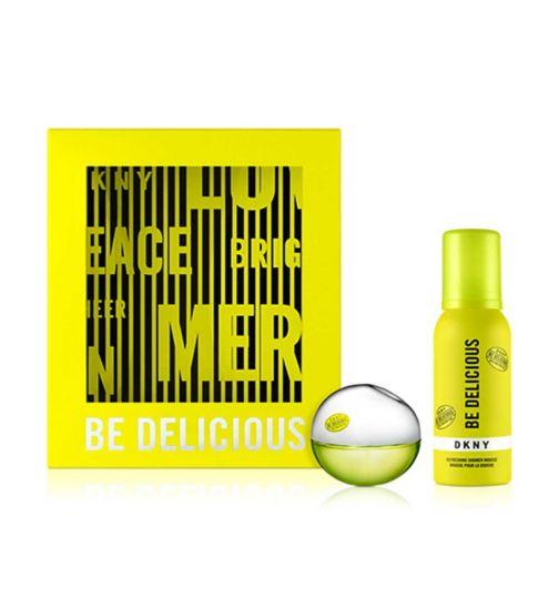 DKNY Be Delicious Eau de Parfum & Shower Mousse Gift Set