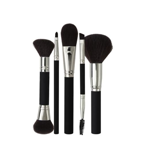 BOOTS DOUBLE ENDED BROW BRUSH;BOOTS FOUNDATION BRUSH;BOOTS LIP BRUSH;BOOTS POWDER BRUSH;BOOTS SHAPE AND HIGHLIGHT BRUSH;Boots Cosmetics Brush Bundle;Boots Double Ended Brow Tool;Boots Foundation Brush;Boots Lip Brush;Boots Powder Brush;Boots Shape & Highlight Brush