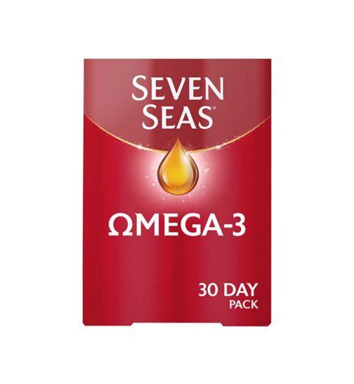 Seven Seas Omega-3 Fish Oil with Vitamin D 30 Capsules