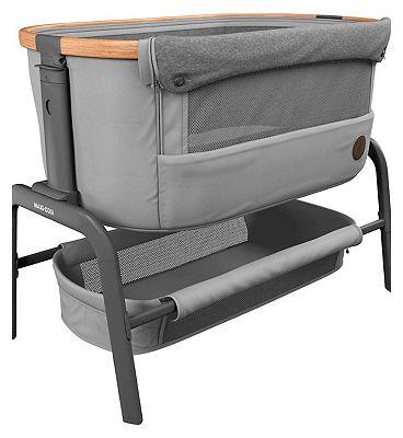 Maxi-Cosi Iora co-sleeper crib essential grey
