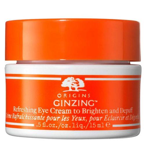 Origins Ginzing™ Vitamin C Eye Cream to Brighten and Depuff - Warmer Shade 15ml